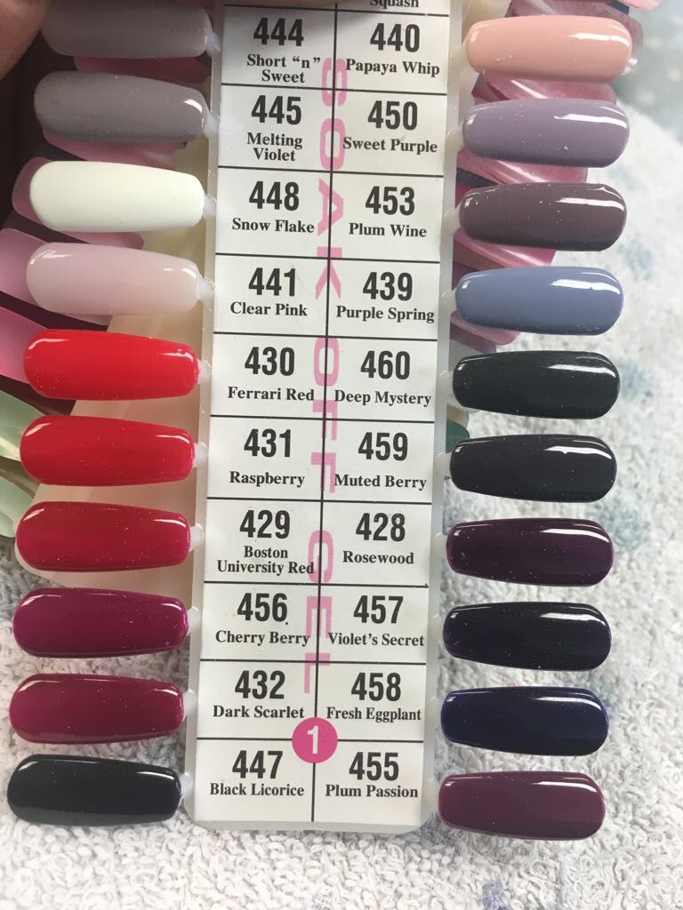 439 Purple Spring Sns Nails Colors Nail Colors Dnd Gel Polish