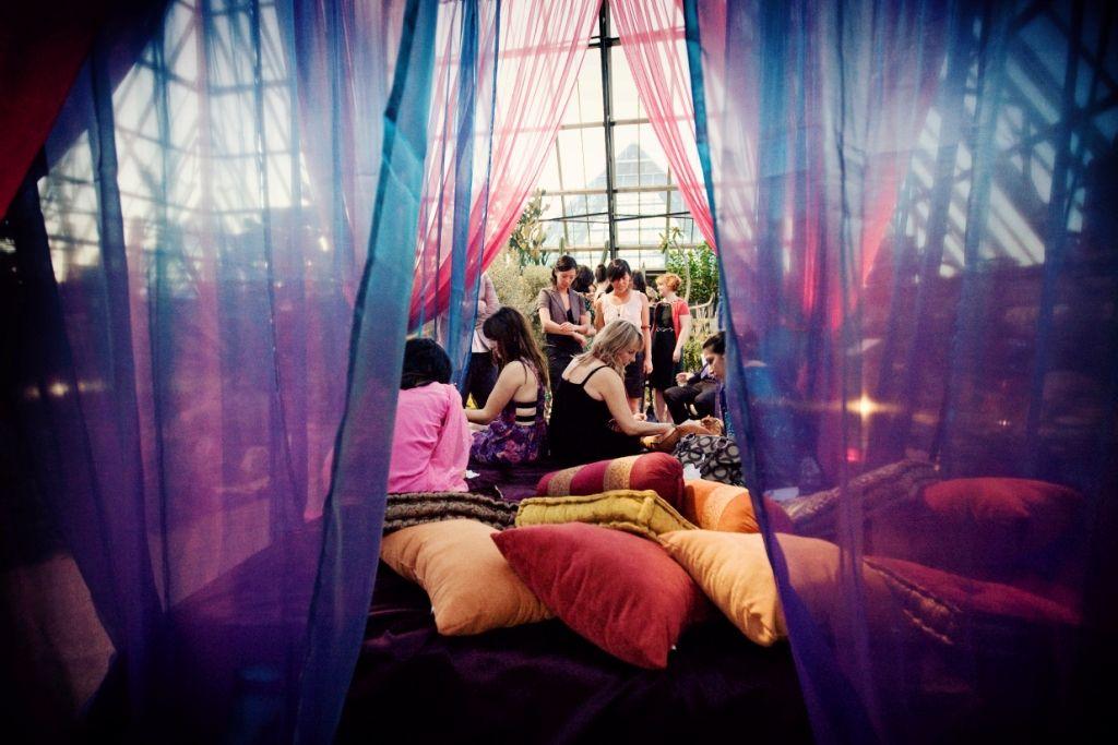 Henna Tent East Indian Wedding