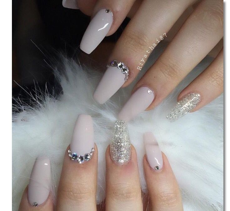 Pin by Taylor on Nails | Pinterest | Nail inspo, Nude nails and ...
