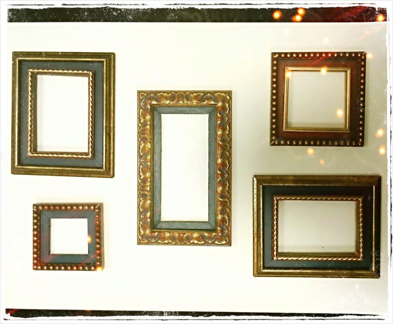 Marcos para lienzos o marcos con espejos de cristal enmarcados en ...