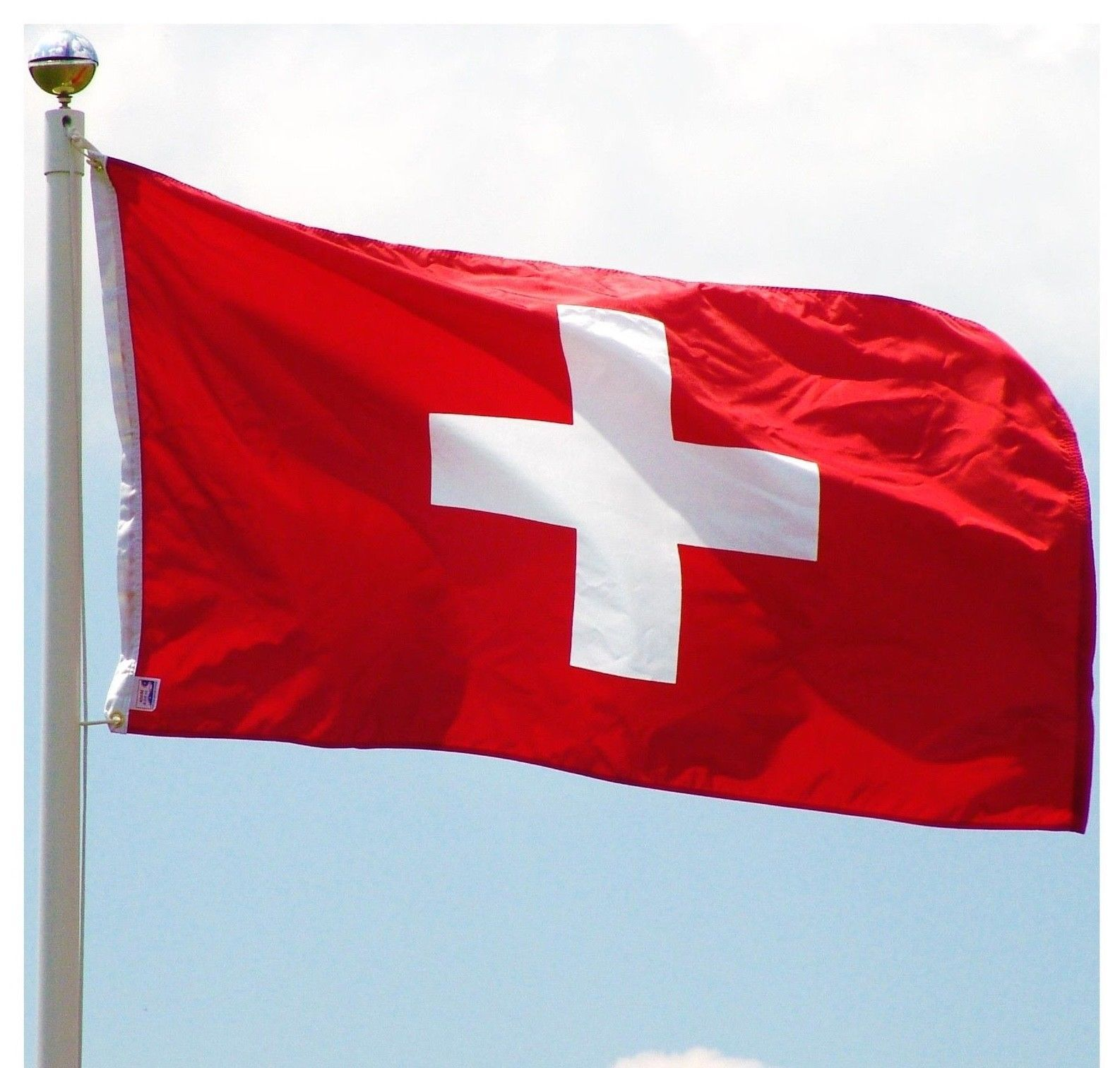 Giant Switzerland Swiss Suisse Euro 2020 National Party Flag Speedy Delivery Flag Switzerland Flag Flags Of The World