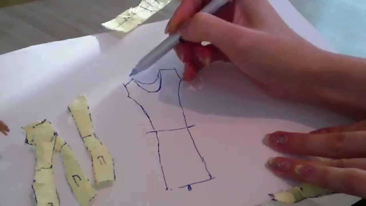 Как самому сшить юбку фото