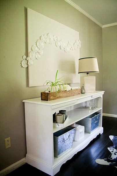 DIY Art....I would use this but paint the back canvas a bright colour to add more pop