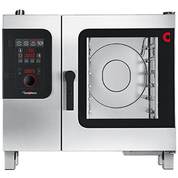 Convotherm C4ed6 10eb Half Size Electric Combi Oven With Easydial Controls 240v 3 Phase 10 9 Kw In 2020 Combi Oven Catering Equipment Commercial Catering Equipment