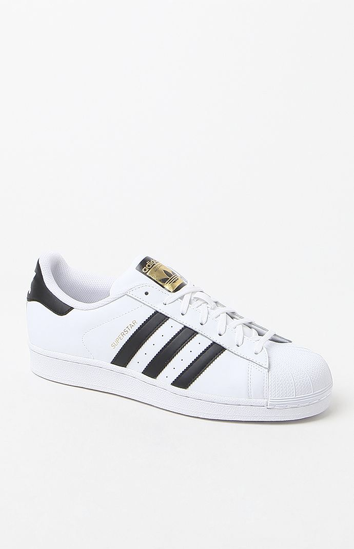 brand new ed2c1 dcce9 Hooked on Superstar Low-Top White   Black Shoes that I found on the PacSun  App