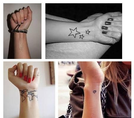Tatuajes Pequeños Para Mujeres Muñeca Fotos Tatuajes Para Mujeres
