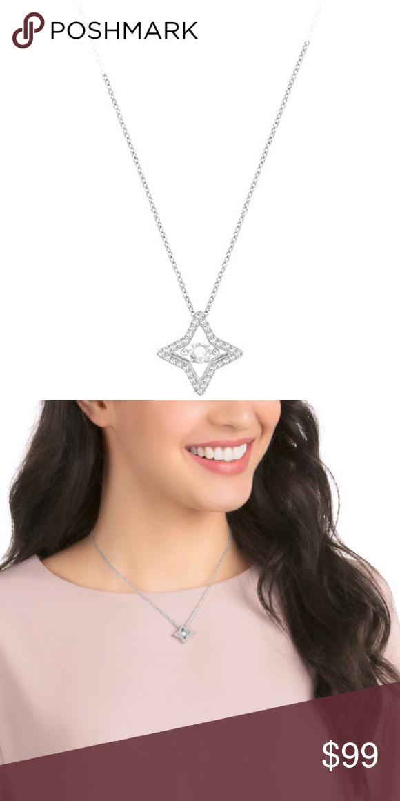 fb0d490cf7453 Swarovski Sparkling Dance Star Necklace - NIB Received this for Xmas ...