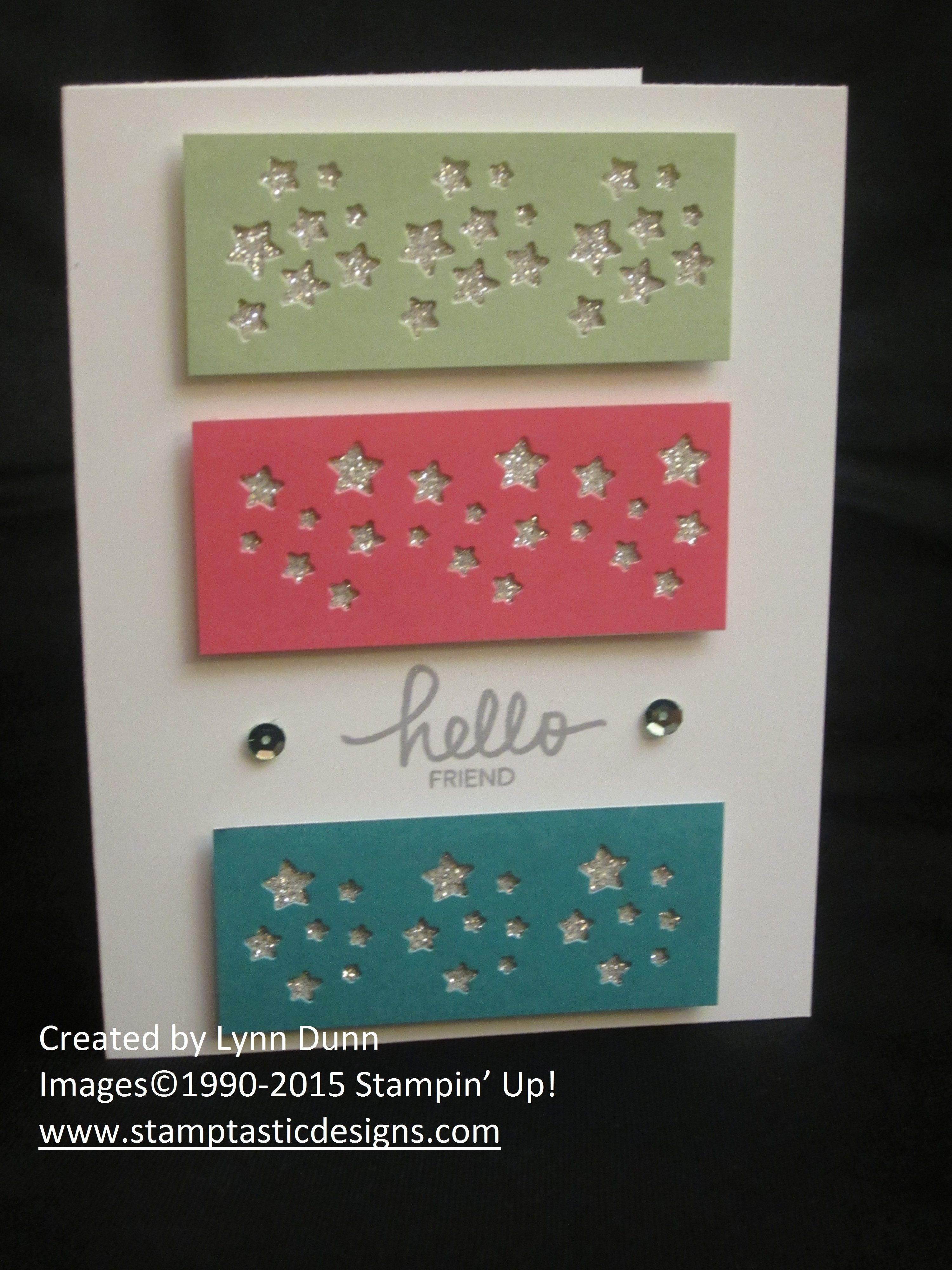 December 2014 Paper Pumpkin kit by Stampin' Up! Shake It Up