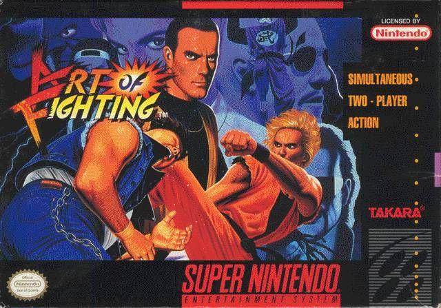 Art Of Fighting Super Nintendo Art Of Fighting Video Game Genre