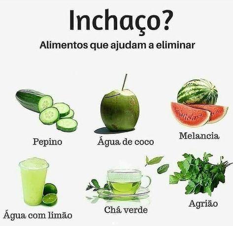 Alimentos Que Ajudam A Combater E Aliviar A Sensacao De Inchaco