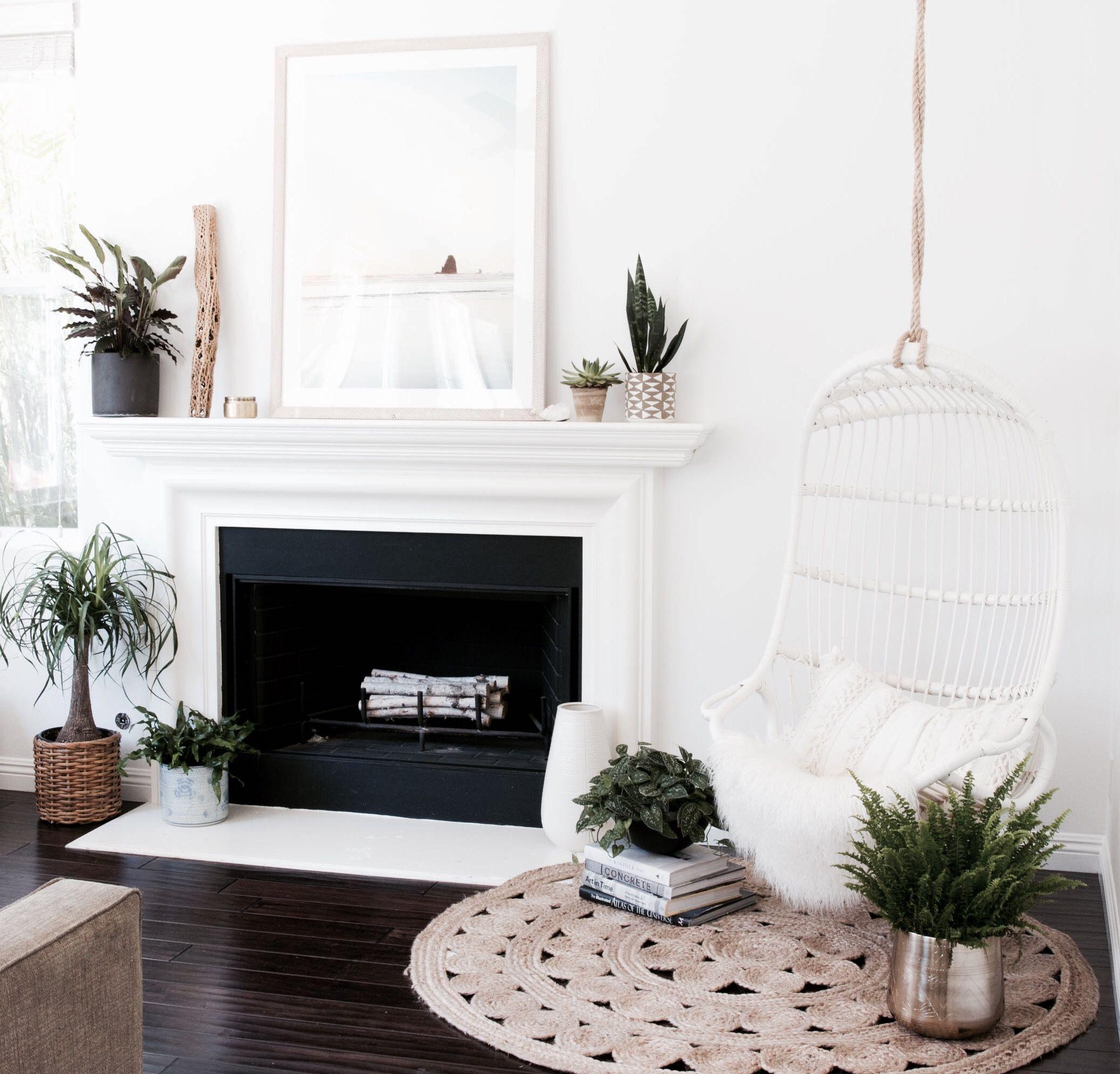 furniture room patina macrame white hammock living