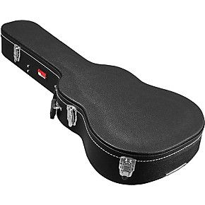 Gator Gwe Acou 3 4 Hardshell 3 4 Size Acoustic Guitar Case Acoustic Guitar Case Guitar Case Black Acoustic Guitar