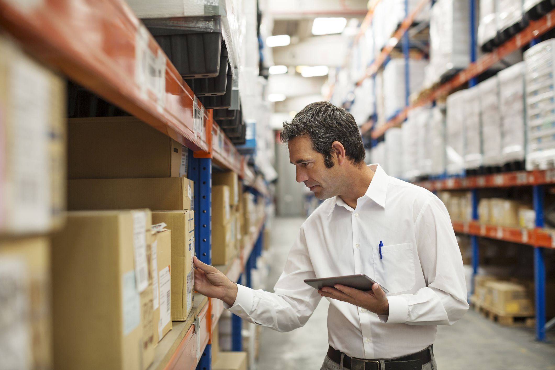 The individual tasks of freight processing vary from one retailer to