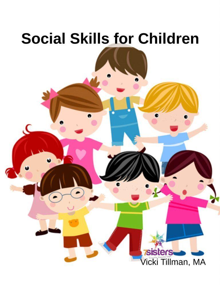 Social Skills Clipart : social, skills, clipart, Social, Skills, Children, Kids,, Skills,, Clipart