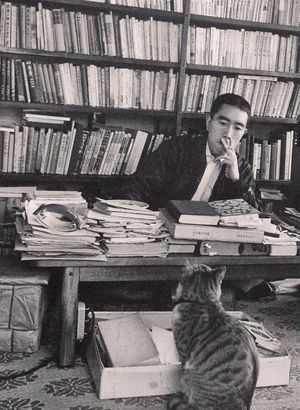Mishima and Cat