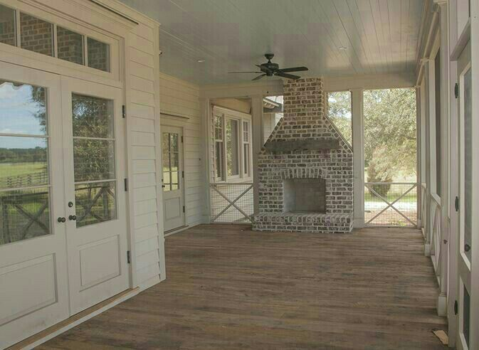 Back Porch Outside Fireplace House Exterior Back Porch Designs House With Porch