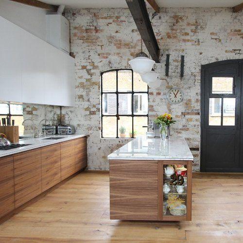 French Industrial Kitchen Design: Bespoke Interior Design Kitchen. French/Vintage Style