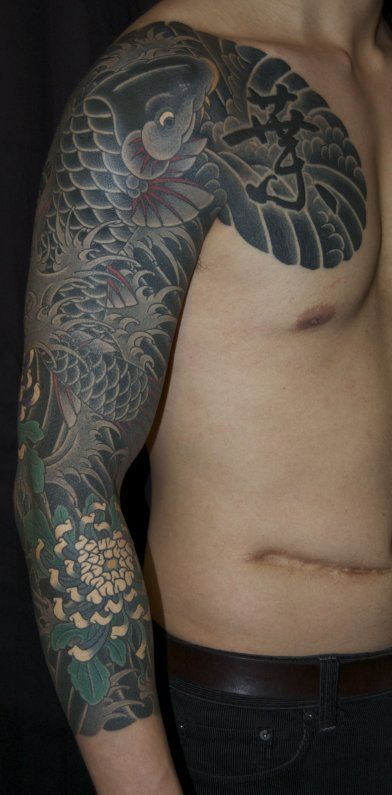 Tattoo asian japanese sleeve — img 1