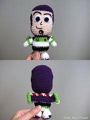 Ravelry: Lil' Buzz Lightyear pattern by Rachel Hoe