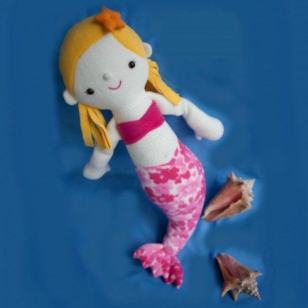 Maya the Mermaid pattern by Abby Glassenberg