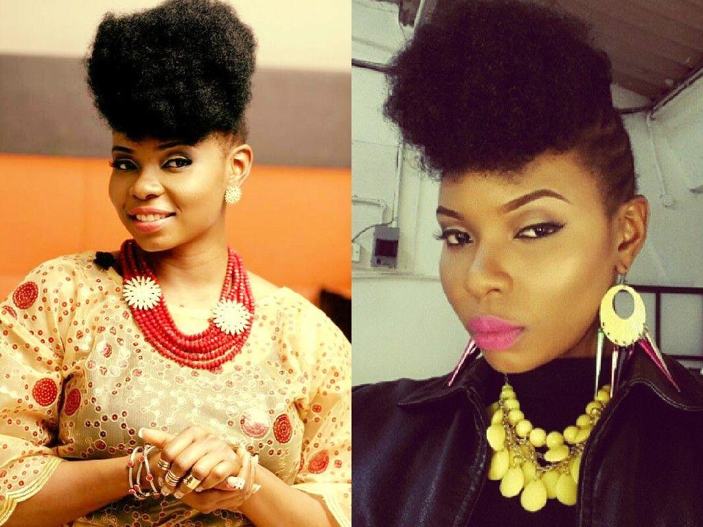 Yemi Alade On Natural Hair African Fashion Ankara Kitenge