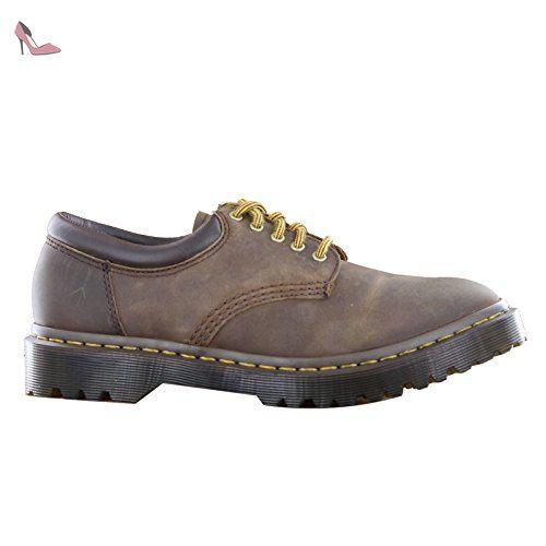 Dr. Martens 3989 Chestnut Suede Wp & Chestnut Canvas 22193231, Zapatos - 43 EU