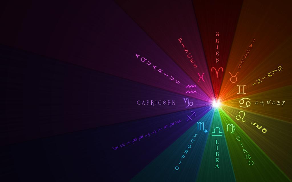 Rainbow Zodiac Background By Falsedisposition On Deviantart Rainbow Virgo Zodiac Rainbow Rocks