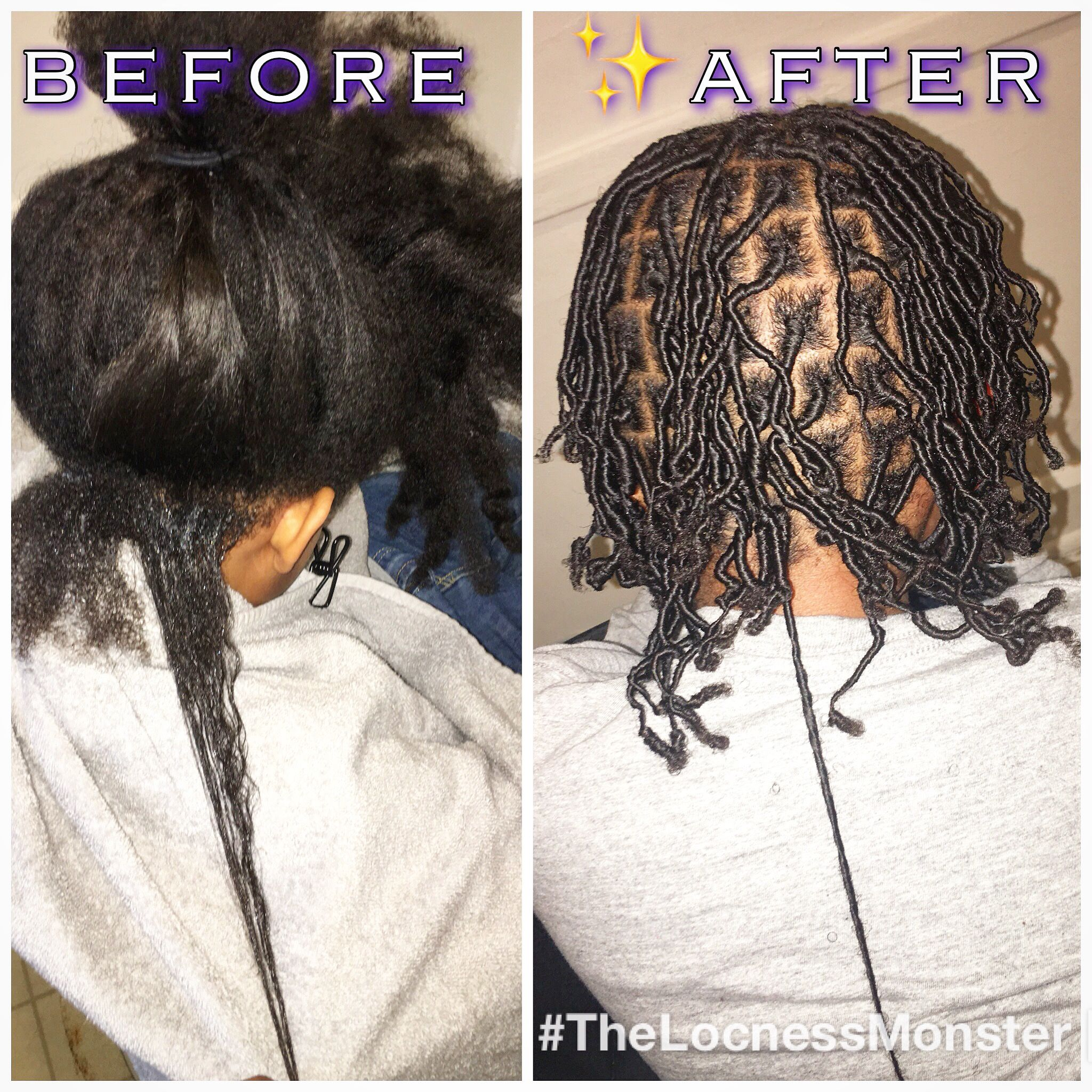 Long Hair Into Starter Locs Long Hair Styles Locs Starter Locs