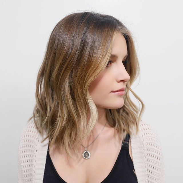 Soft natural highlights on a modern lob hair pinterest soft natural highlights on a modern lob pmusecretfo Gallery
