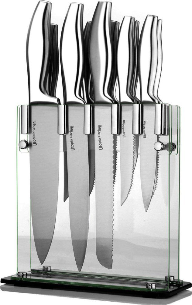 Cook Better Save Up To 90 On Kitchenware At Amazon Best Kitchen Knife Set Stainless Steel Knife Set Best Kitchen Knives