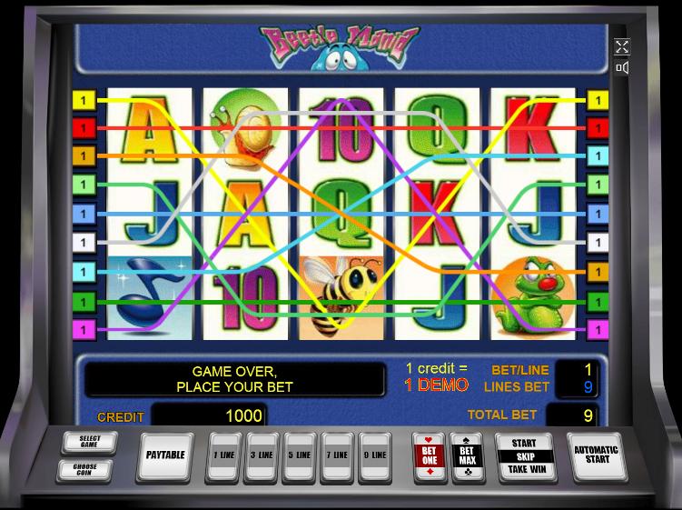 игровые автоматы новоматик жуки