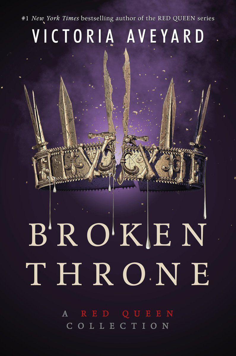 Broken Throne Official Book Cover Victoriaaveyard Brokenthrone