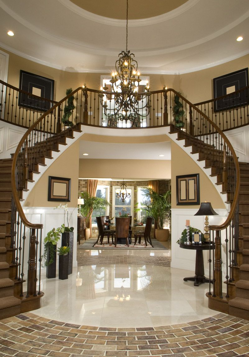 40 Luxurious Grand Foyers For Your Elegant Home Http Www Designrulz