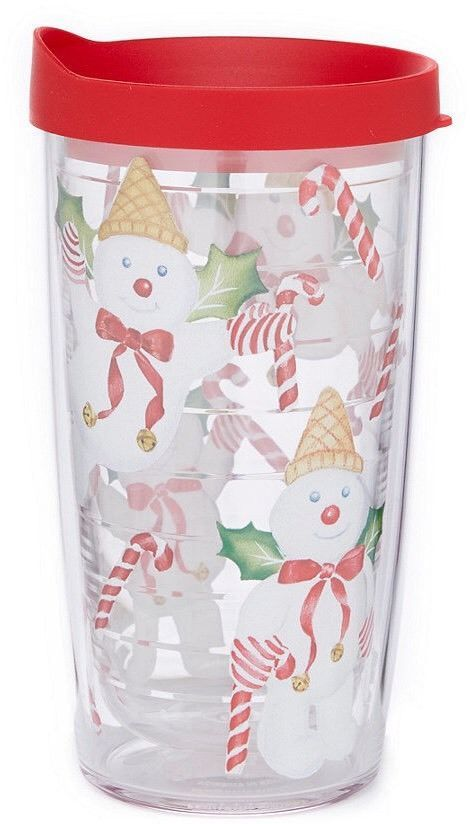 Mr Bingle Tervis Tumbler Cup New Orleans Christmas Mr