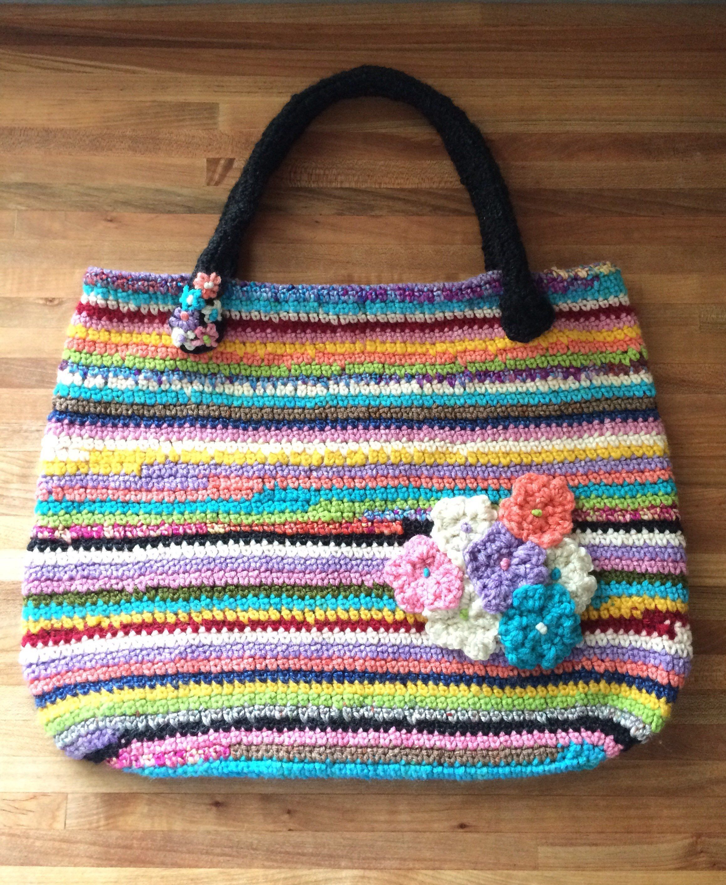 b7bd146c677d Bags   Handbag Trends   Excited to share the latest addition to my shop  Hand  Crocheted Tote Bag