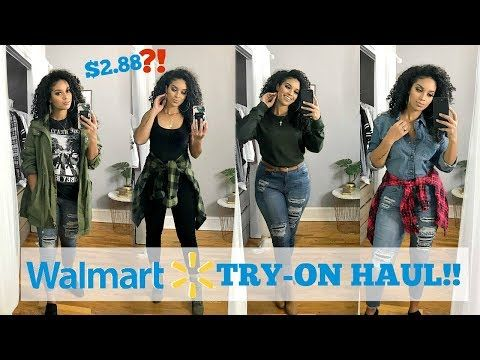 62888bec0f6e2 HUGE WALMART CLOTHING HAUL + TRY ON! 10+ OUTFITS!!