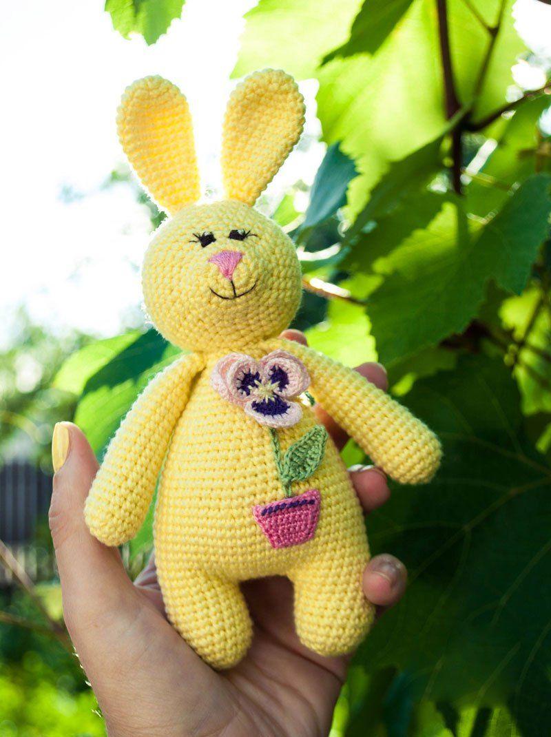 Amigurumi rabbit baby rattle | Pinterest | Crochet patrones, Conejo ...