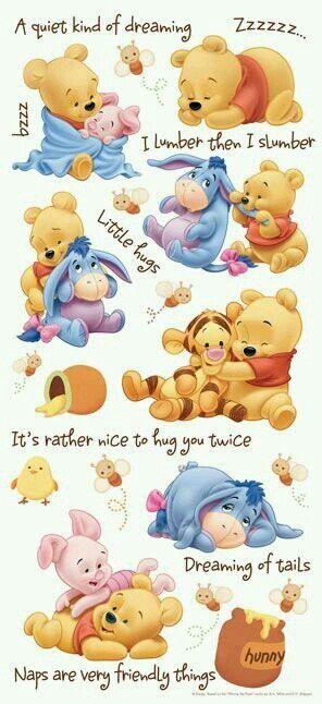 Winnie pooh baby time   Sweet stuff   Winnie puh, Disney zeichnungen ...