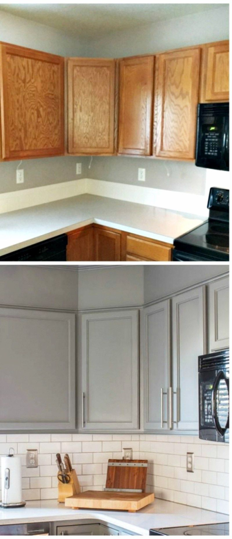 small kitchen remodels before and after pictures to drool over rh pinterest com