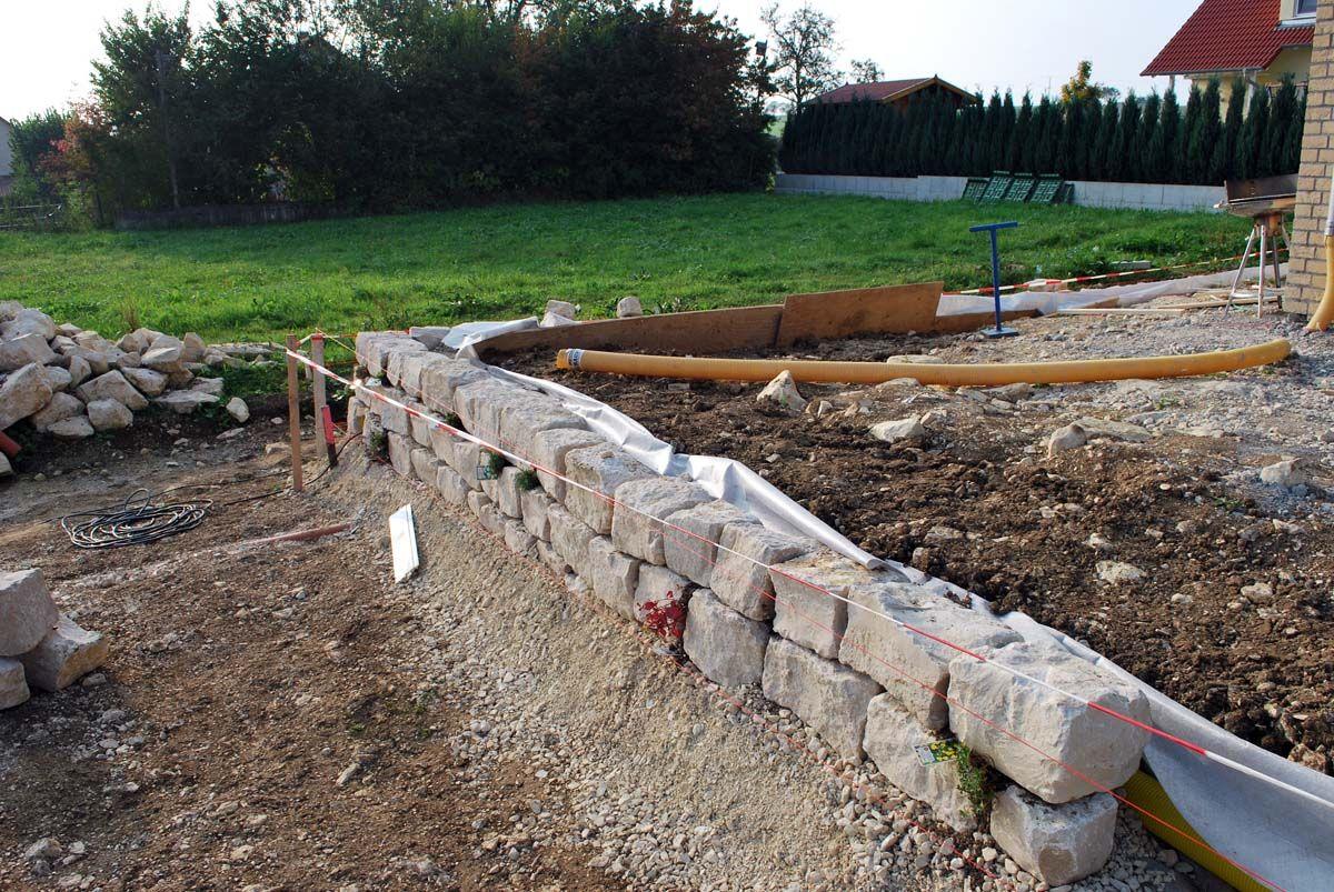 trockenmauer (bauanleitung) bauanleitung zum selber bauen | garten