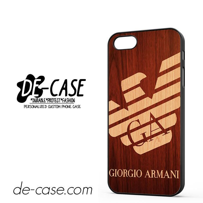 Giorgio Armani Wood DEAL-4660 Apple Phonecase Cover For Iphone 5 / Iphone 5S