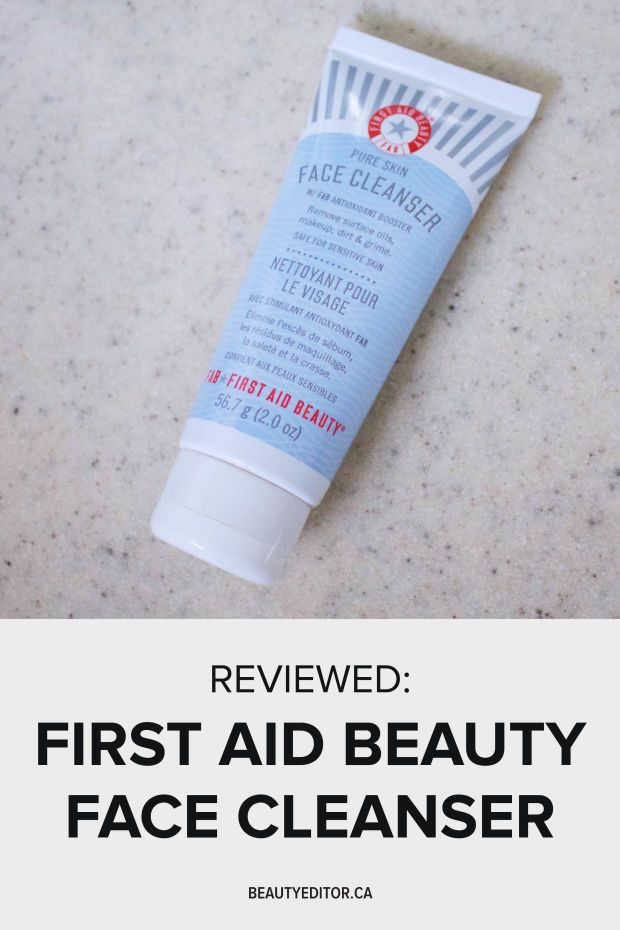 Editor S Pick A Sulfate Free Cleanser That Works On All Skin Types Face Cleanser Beauty Skin First Aid Beauty