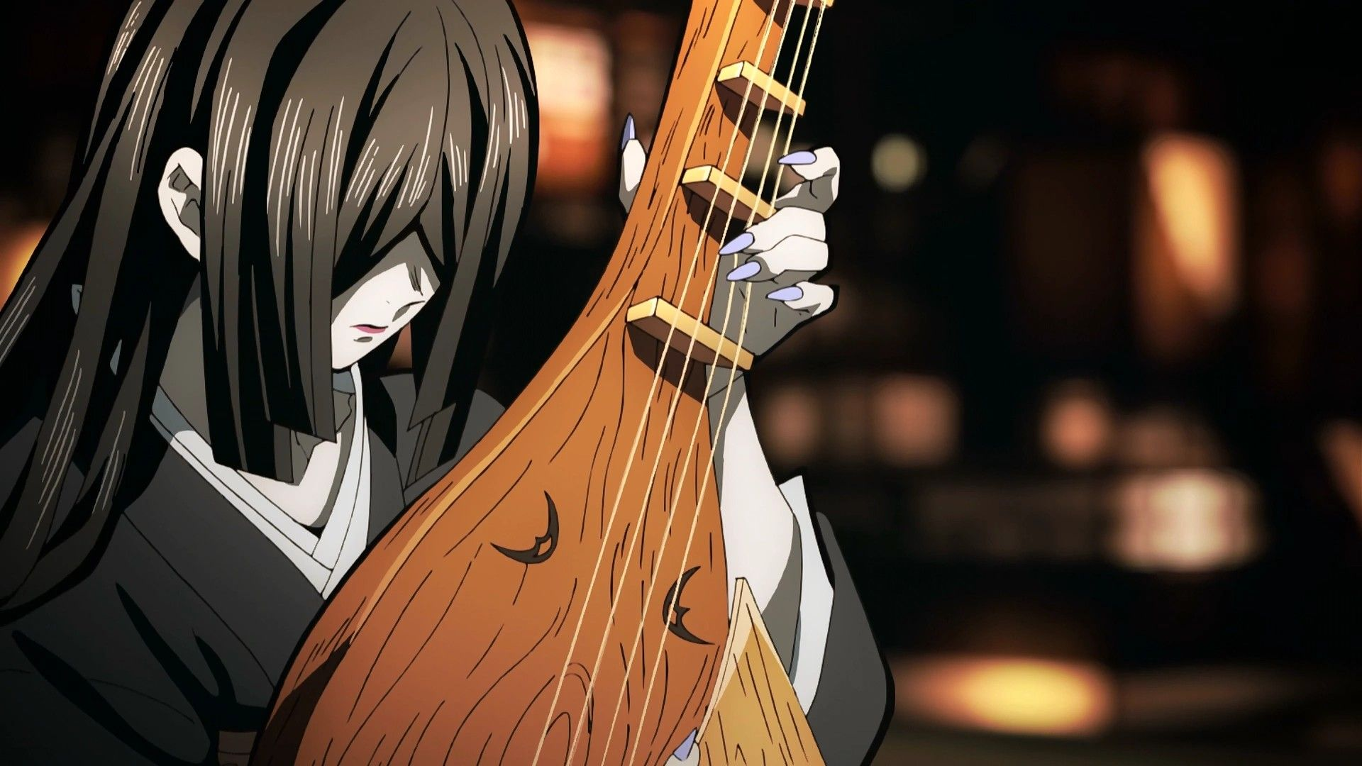 Nakime Demon, Slayer, Anime demon