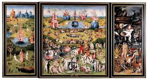 Jérôme Bosch, Le Jardin des délices, vers 1495-1505
