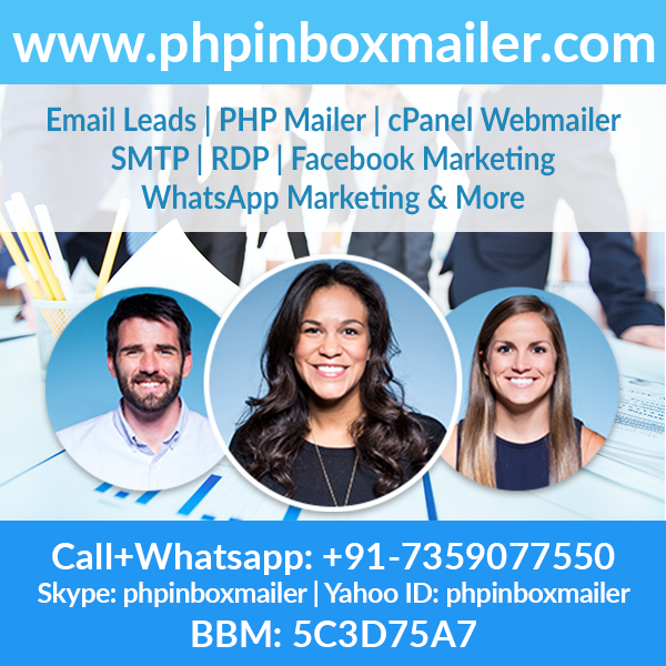 PHP Inbox Mailer to send out Bulk emails, IP & Domain SMTP, cPanel