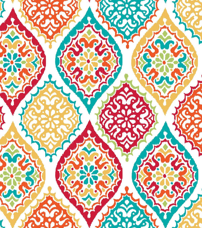 Escape To Paradise 60 Round Peva Tablecloth Multi Medallion Joann Jo Ann Peel And Stick Wallpaper Wallpaper Nuwallpaper