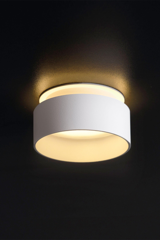 Design Led Einbaustrahler Sudara Weiß Rund Indirektes Licht Inkl Led Modul 5w Warmweiß 230v Flur Beleuchtung Decke Led Einbaustrahler Lampen Wohnzimmer