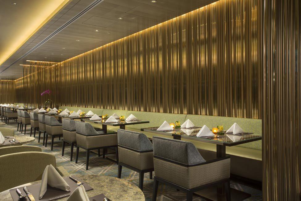 The Club - Michael Fiebrich Design  Level 55 VIP Club Lounge at