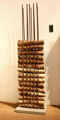 Ak47-Wood-Storage-Rebar-Cement by Inhabitat, via Flickr
