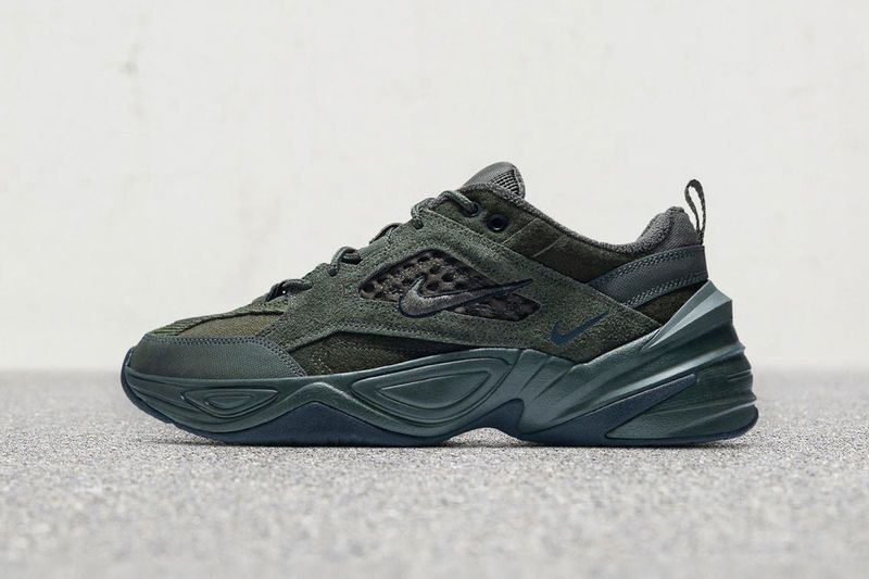 c7aafaad58e5 Premium Reconstructed Chunky Sneakers - Nike s N2K Tekno Sneakers Receive a  Luxe Material Makeover (TrendHunter.com)